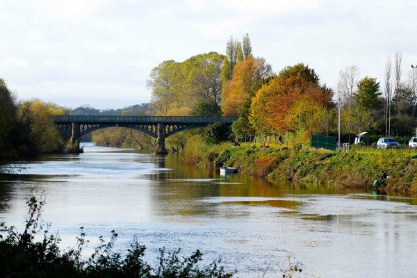 river Wye at Hereford