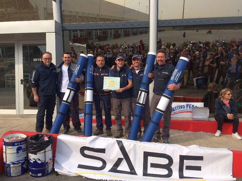 1^ squadra classificata Oltrarno Colmic