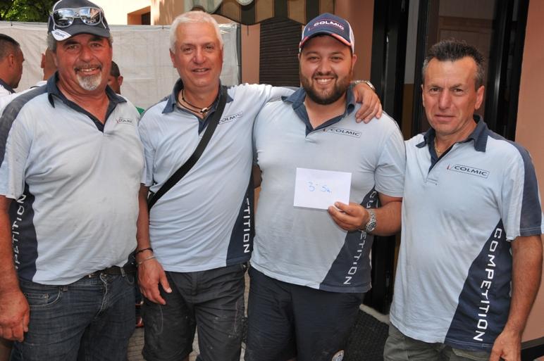 3^ sq. classificata Nuova Lenza Montecatinese Colmic