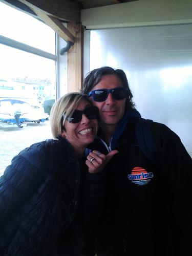 Elisabetta Giraldi del CNP e Davide Schirolla di Star Fishing TV