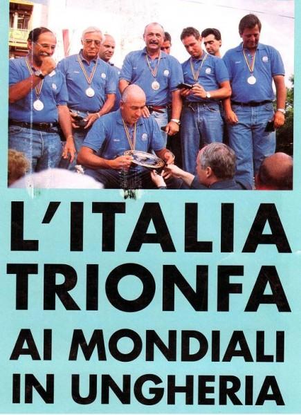 MONDIALI UNGHERIA 1997