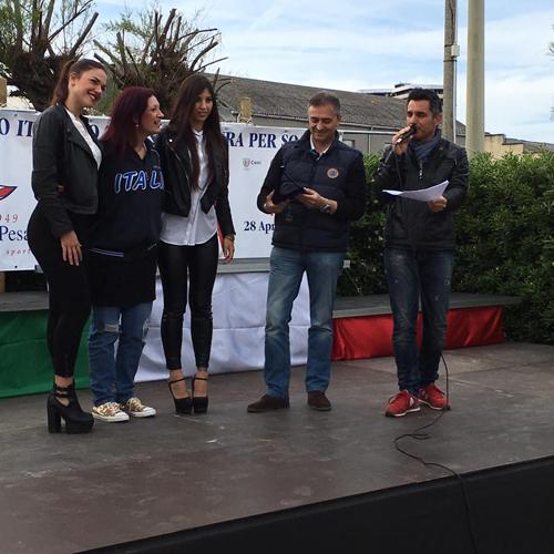 Ringraziamento a Paola Cingolani dal Presidente Galeppi.