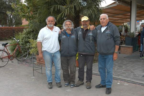 team crevalcore Tubertini Vincitori della gara