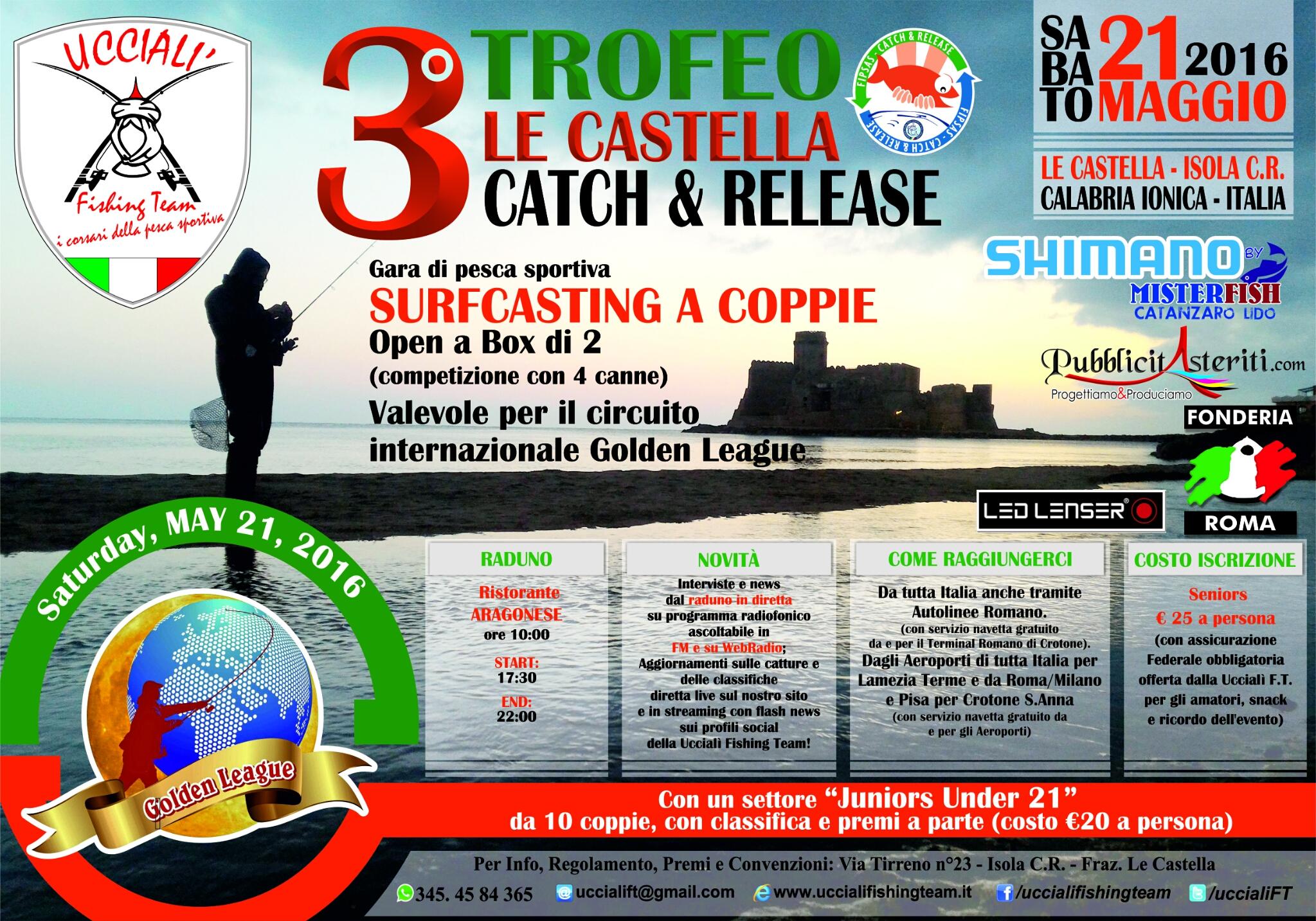 3 trofeo le castella uccialì fishing team