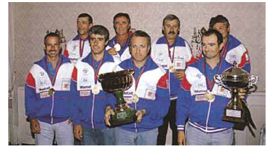La 1^ vittoria nel Trofeo Sei Nazioni nel 1999