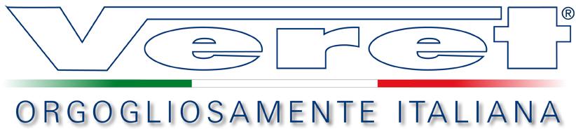 Veret logo bianco