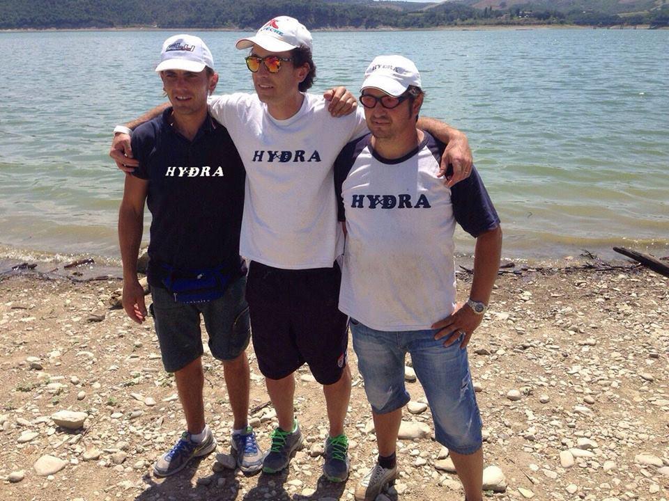 1° squadra classificata ASD Lenza Petrignanese Hydra D ( Catasti - Coraggi- Famiani- Cambiotti)