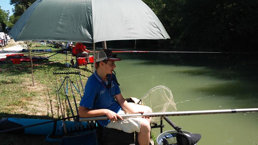 3° classificato individuale Natini Jacopo Crazy-Fisher ( giovane promessa della pesca)