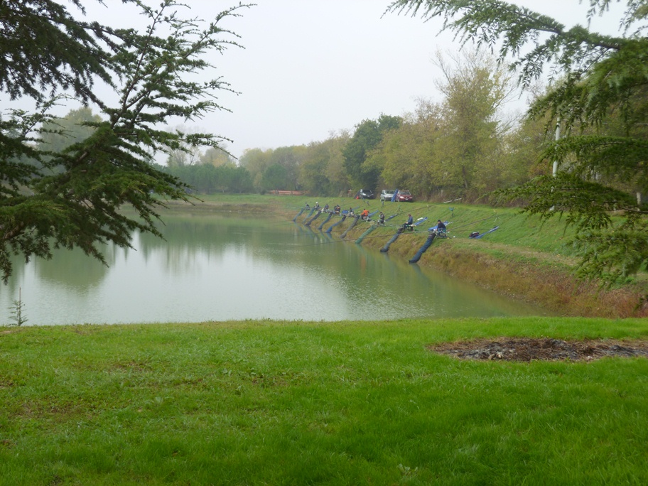 55 lago prima della alluvione