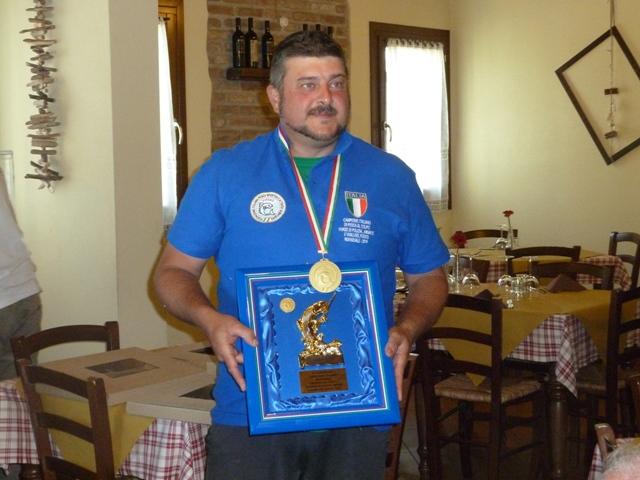 Roberto Battellini Campione Italiano 2015