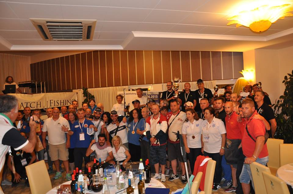 Trofeo Catch and Realese Golden League in Italia