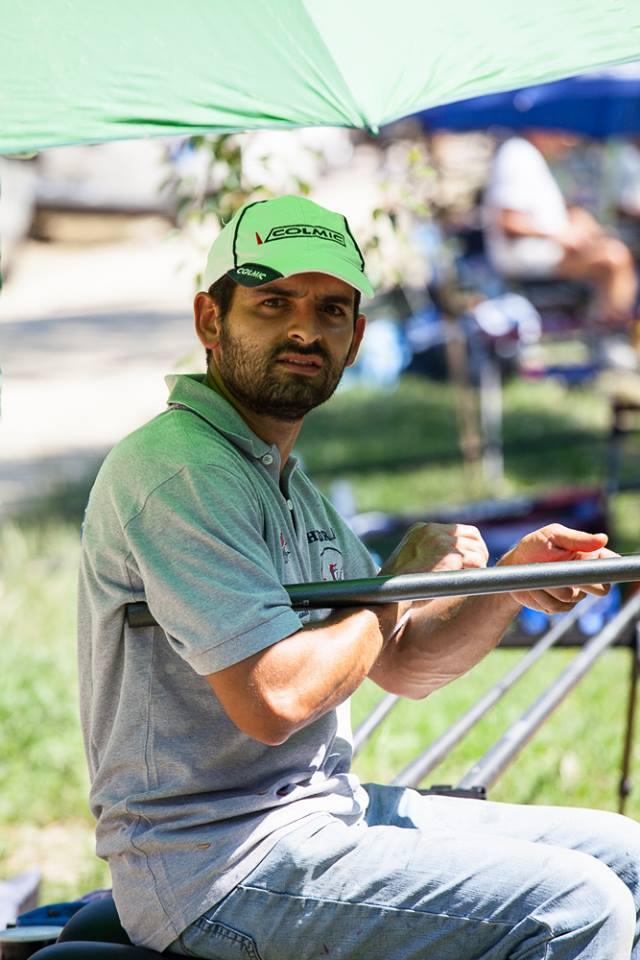 grazie a Riccardo Antoniacci che ci ha fatto in tutte le gare da sponda.....