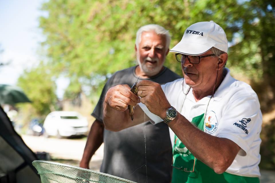 uno dei più anziani della società Carlo Massettini sempre presente in prove ufficiali...