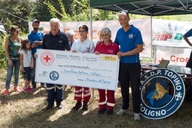 A donazione CRI memorial calcagnoli