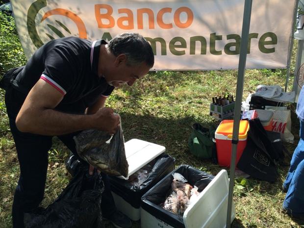 B donazione pesce Siticibo Banco Alimentare memorial calcagnoli