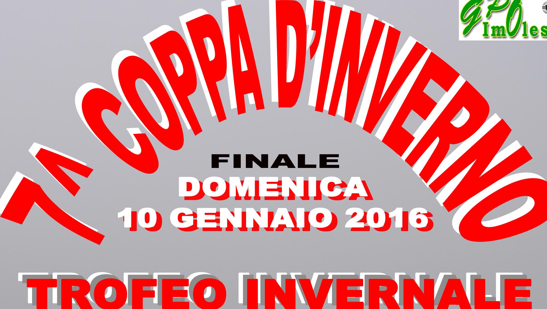 LOCANDINA 7^COPPA D'INVERNO RITAGLIO