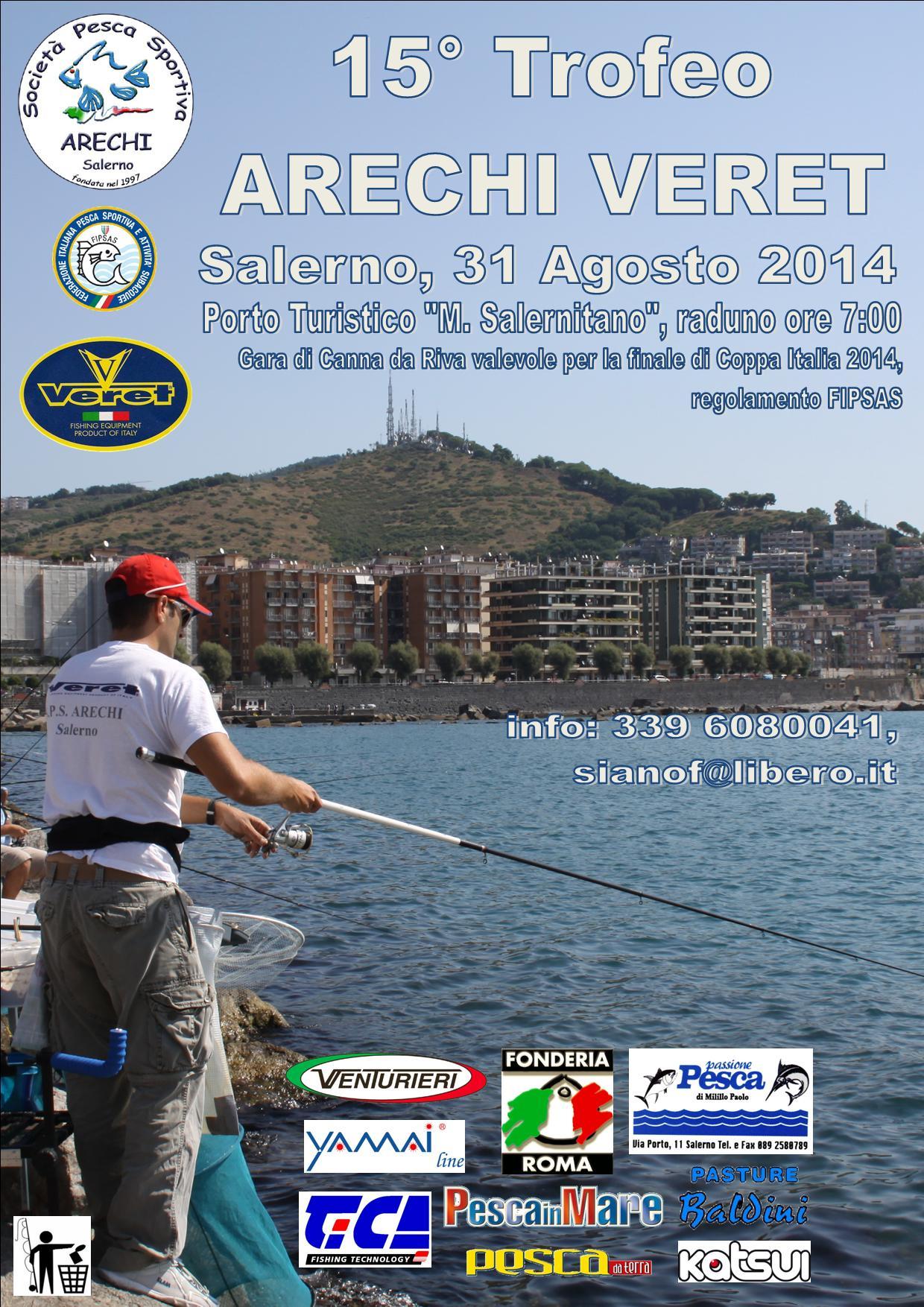 15° Trofeo ARECHI VERET - F. Siano