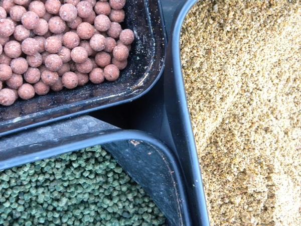 Boilies, Pellet e Pastura