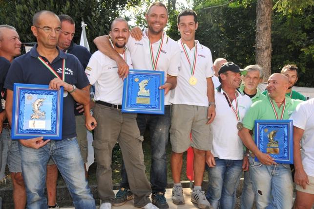 F.lli Campana vincitori Trofeo serie A1 2014