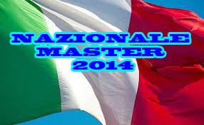 NAZIONALE MASTER 2014