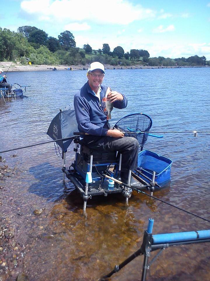 Tommy takes the perch cup today! Perch king! 2 days to go to world feeder champs.