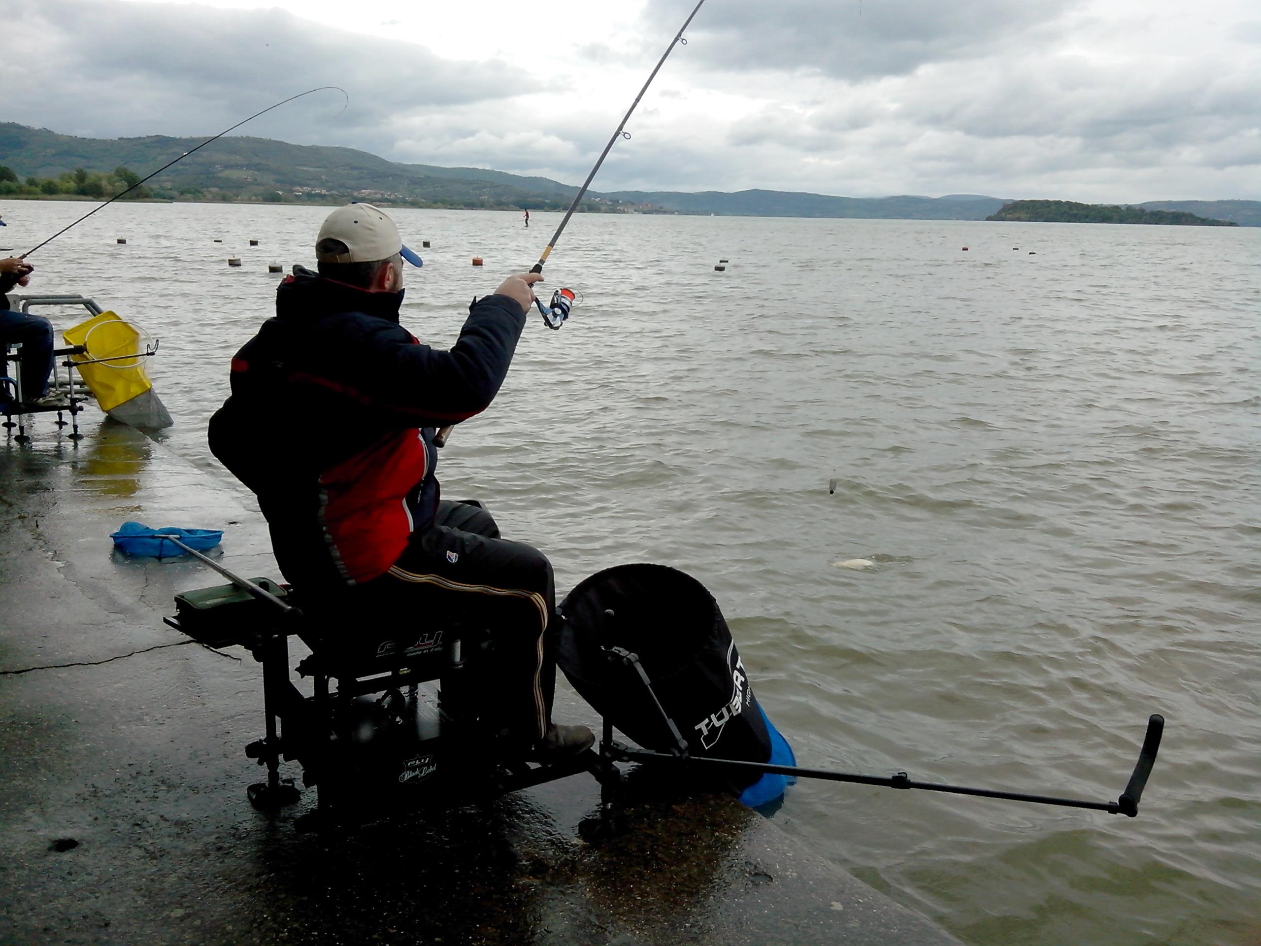 azione di pesca