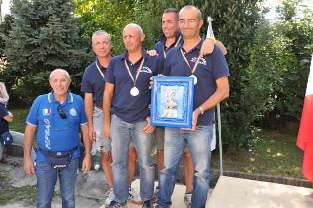 podio 2^ classificata  progressiva finale