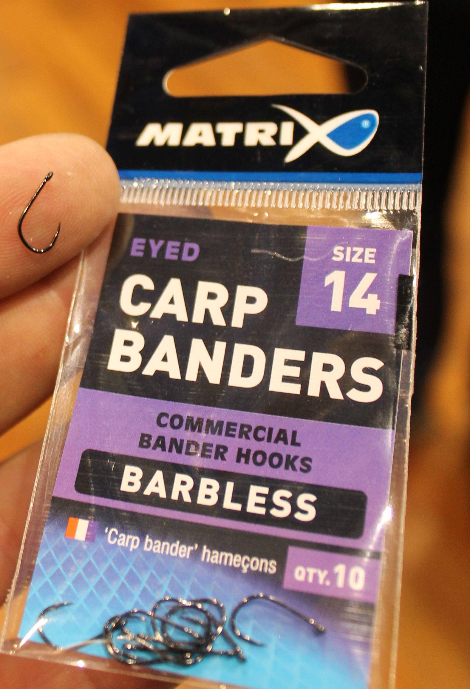 Carp Banders Hooks Barbless