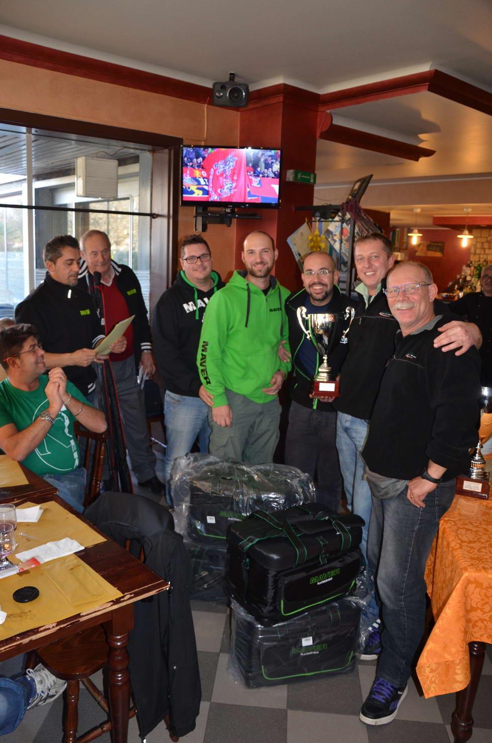 squadra Top Player Maver 2° classificati.