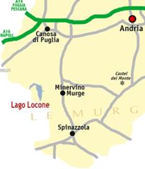 Mappa del lago
