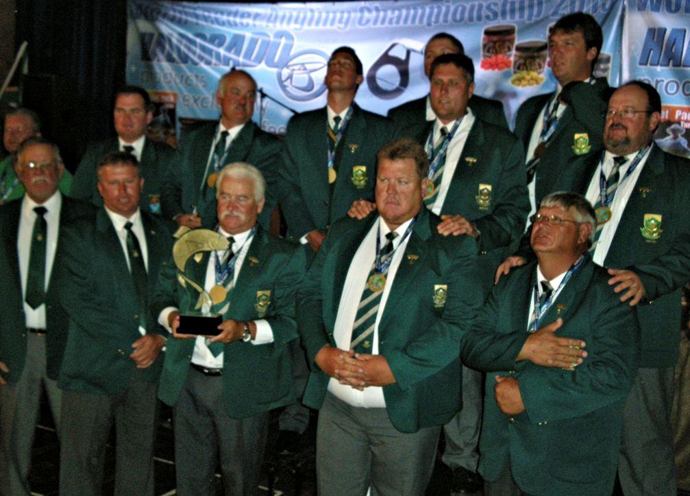 Il Sudafrica Campione del Mondo Feeder 2013