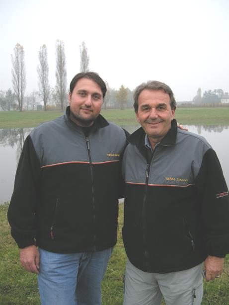 Mario e Paolo Cauzzi, vincitore Daiwa Day con Fabrizio Magrini