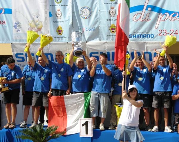 NAZIONALE ITALIANA 26-06-07 CAVO LAMA EUROPEI