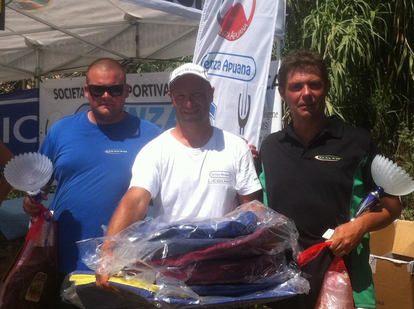 Vincitori Master Cup Colmic 2013 Cesari-Benucci