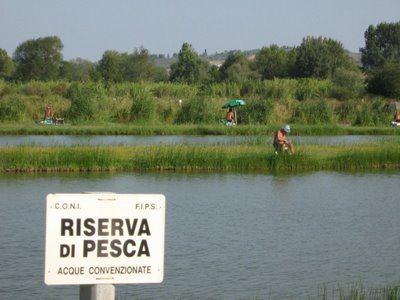 riserva di pesca