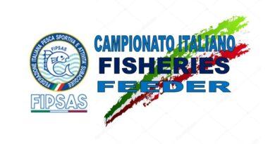 Regolamento Campionato Italiano Fisheries 2021 pesca a Feeder